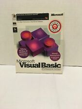 Microsoft Visual Basic 5.0 Professional Edition Retail Workstation *see Descrip