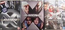 X-MEN TRILOGY 1,2,3 LAST STAND Jackman*Berry*Paquin Epic Marvel Action DVD EXC