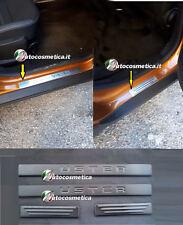 Per Dacia Duster 2018> Accessori Acciaio Inox Battitacco Protezione Soglia Porta
