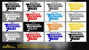 YAMAHA TENERE T7 700 2018 2021 STICKERS VINYLS TENERE 700 LOGO