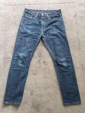 Levis 522 Mens Blue Jeans Slimfit Size 30 30