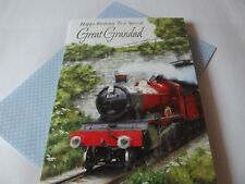 Feliz cumpleaños a un gran abuelo.. cumpleaños especial tarjeta de saludos