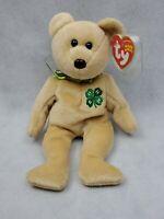 TY Beanie Baby 2005 clover bear plush (cc)