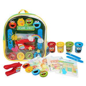 NEW 20 Piece Sesame Street Activity Backpack Set