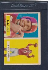 1957 Topps #030 Y.A. Tittle 49ers VG/EX 57T30-42216-1