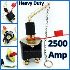 12V/24V voltios Heavy Duty 250AMP TIR Batería Aislador/Interruptor De Corte matar a/0-605-50