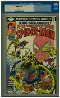 Spectacular Spider-Man Annual #1 (1979) CGC 9.8 Dr. Octopus App R. Buckler Cover