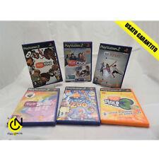Gioco Sony PS2 - Lotto n. 6 giochi EYE TOY EyeToy