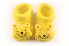 Newborn 12M Baby Boy 3D Winnie The Pooh Socks - Anti Slip Babyshower Gifts