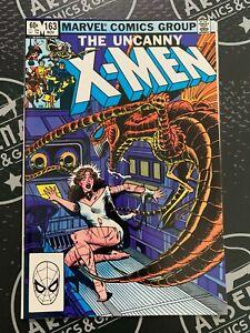 Uncanny X-Men #163 & 165 1982 Binary Carol Danvers Wolverine Storm Marvel Comics