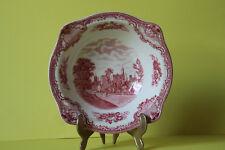 Johnson Bros Old Britain Castles Rot Servierschüssel Schüssel 22 cm