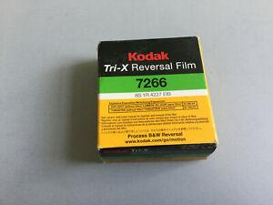 KODAK TRI-X 7266 BLACK & WHITE REVERSAL SUPER 8 stored in fridge,no longer made.