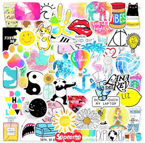 56 VSCO Stickers for Hydro Flask Laptop Girl Decals Skateboard Suitcase Sticker