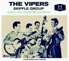 THE VIPERS SKIFFLE GROUP ~  DON'T YOU ROCK ME DADDY - O NEW 2 CD U.K. SKIFFLE
