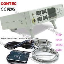 CONTEC ICU/CCU Patient Monitor with SPO2,NIBP,PR,Vital Signs Monitor,3y warranty