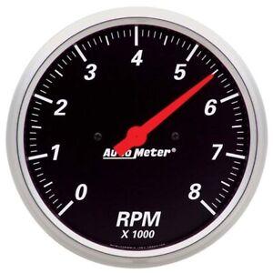 AutoMeter 1499 Designer Black Air-Core In-Dash Tachometer Gauge