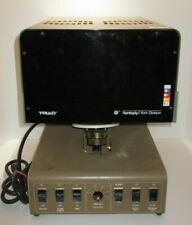 Vintage Dentsply Triad Tcu 1 Ultraviolet Dental Curing Oven