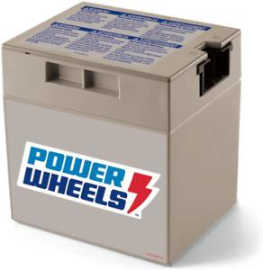 Power Wheels 12 V, 12Ah, Electronic Battery for Model: 1001175653 NEW P/N 74777