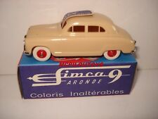 NOREV REEDITION SIMCA ARONDE 9 BEIGE au 1/43°