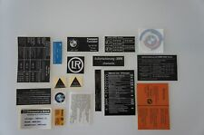 BMW 2002 turbo Sticker Set Aufklebersatz