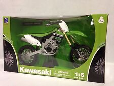 Newray Kawasaki KXF 450 2012 motocross modèle jouet vélo moulage sous pression &