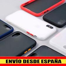 Funda Iphone 6 6s 7 7 Plus 8 X XS XR XS MAX 11 Pro Max SE 2020 trasera rígida
