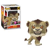 Funko POP! Lion King SCAR (Flocked) #548 Vinyl Figure - EXCLUSIVE
