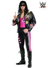 Men's WWE Bret Hart Wrestling Costume SIZE M (Used)