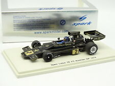 Spark 1/43 - F1 Lotus 76 - GP Austrian 1974 Jacy Ickx JPS