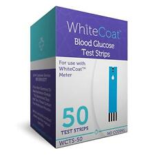 White Coat Blood Glucose Test Strips 50 Pc. Use With White Coat Glucose Meter