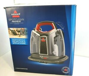 BISSELL SPOTCLEAN PRO HEAT Carpet & Upholstery Cleaner Vacuum & Wash 1558E