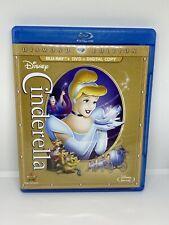 Walt Disney's Cinderella Diamond Edition BLu-Ray & DVD
