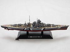 Miniature Eaglemoss Bateau de guerre Cuirassier BISMARCK Marine Allemande 1941