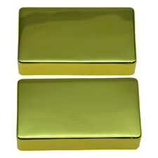 Pack of 2 Sealed Electric Guitar Bass Brass Humbucker Pickup Cover No Holes