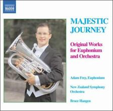 MAJESTIC JOURNEY: ORIGINAL WORKS FOR EUPHONIUM AND ORCHESTRA NEW CD
