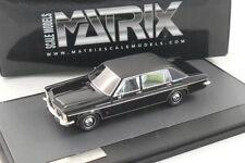 Opel Diplomat-B Lang Vogt Limousine 1974 Black   - Matrix 1:43