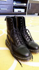 Women's 10 Hole Black Leather Doc Martens as new condition worn twice UK 6/ AU 8