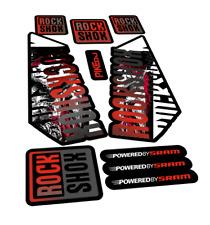 New stickers RockShox Pike DJ  bike MTB decals