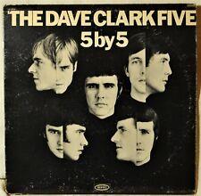 Dave Clark Five 5 by 5 Strong VG LP Vinyl Plays Great British Invasion Oldies