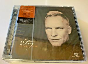 Sting - Sacred Love [HYBRID SACD] - Sting CD new & sealed