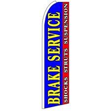 BRAKE SERVICE (SHOCKS STRUTS SUSPENSION) Swooper Half Curve Advertising PREMIUM