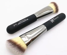NEW iT Cosmetics no.#10 Heavenly Luxe Angled Radiance Creme Blush Makeup Brush