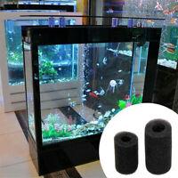 5X Sponge Aquarium Filter Protector Cover For Fish Tank Inlet Pond Black Foam C