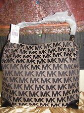 """Michael Kors large """"Joplin"""" Signature shoulder bag - beige/black - NWT"""