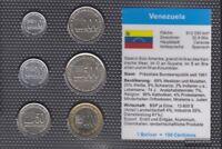 Venezuela Stgl./unzirkuliert Kursmünzen 2002-2005 10 Bolivar bis 1.000 Bolivar