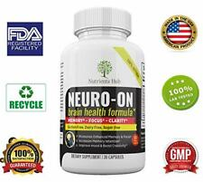 BEST Premium Memory Boosting Mental Focus Brain Cognition Natural Supplement US