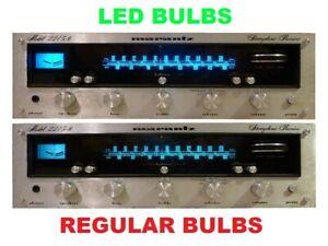 6 pcs LED lamp light bulb Illumination Marantz 2215B Receiver
