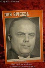 Der Spiegel 49/59 2.12.1959 Nachtigal in Bonn  Oberländer