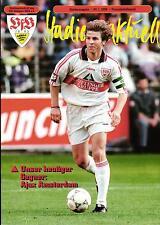 24.01.1998 VfB Stuttgart - Ajax Amsterdam