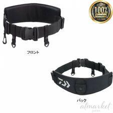 Daiwa Ut belt Da-4303 black Front buckle Fishing genuine from Japan New
